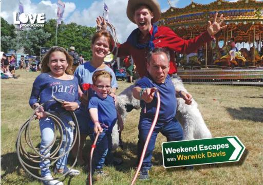 Weekend Escapes With Warwick Davis Series 2 Love Productions