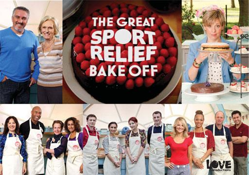 The Great Sport Relief Bake Off Series 1 Love Productions